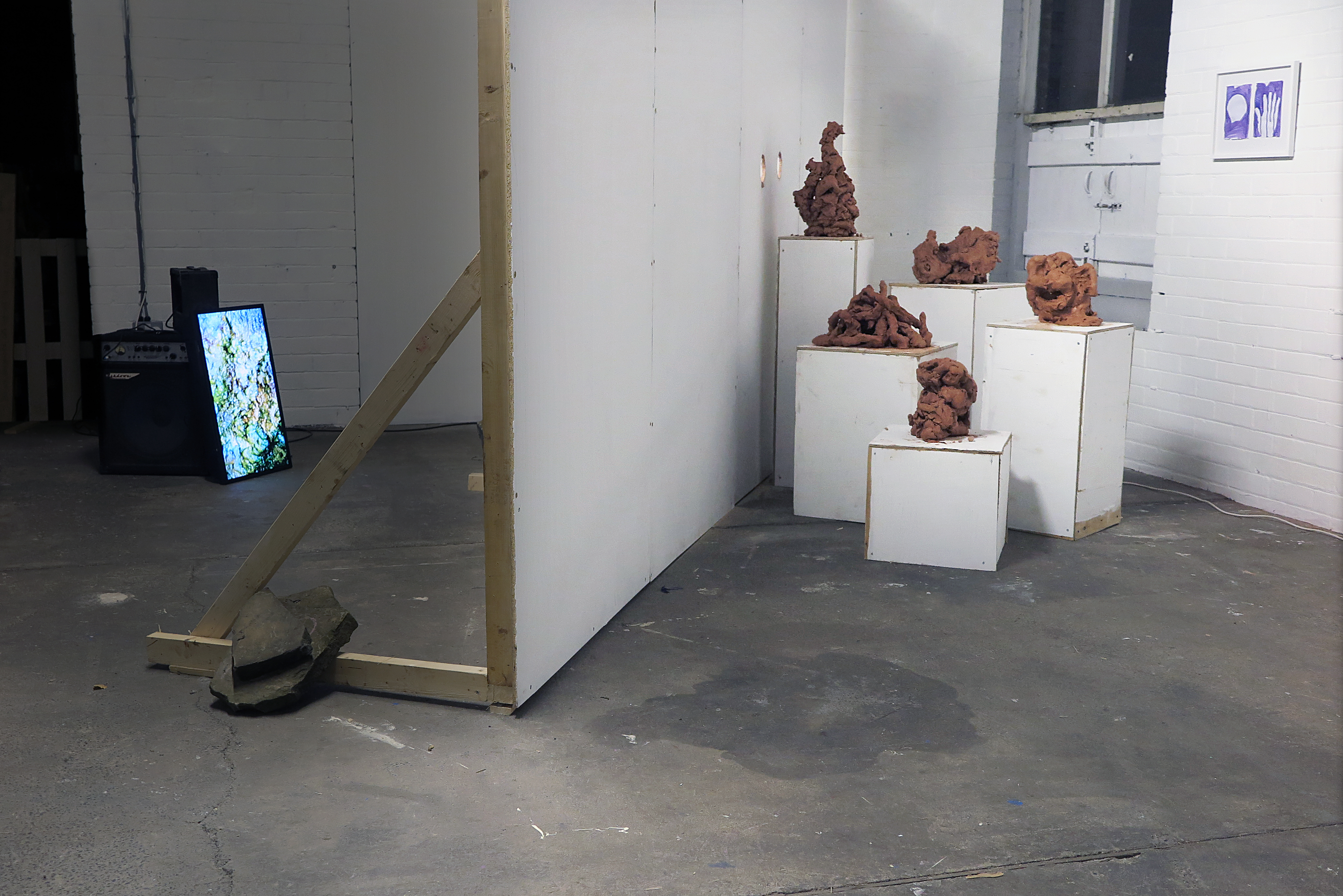 installation view, Assembly House Studios